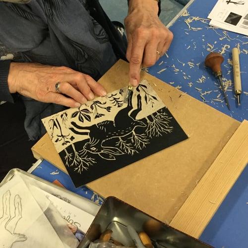 Image of One Day Beginners Linocut Workshop