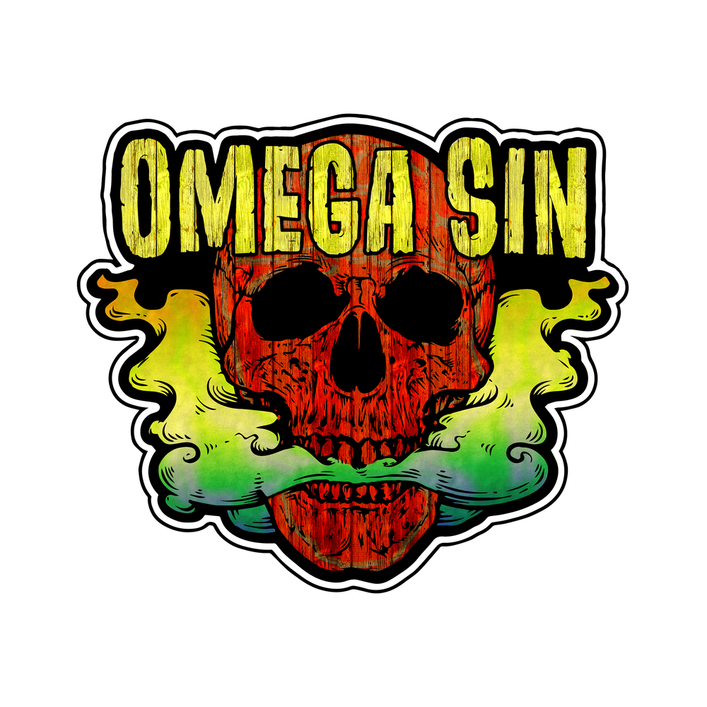 Image of Omega Sin stickers