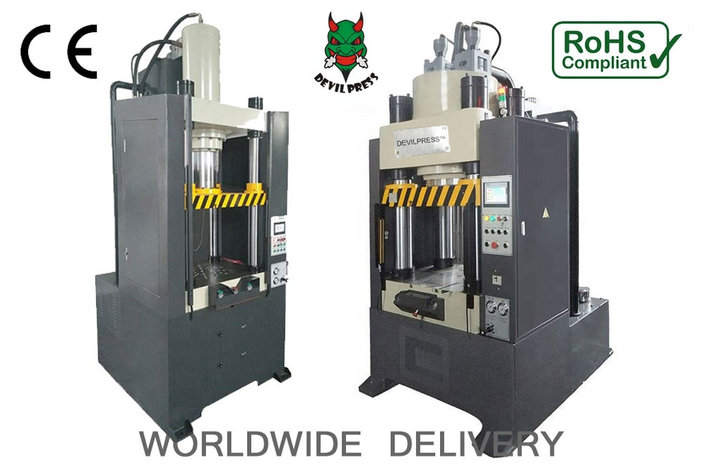 Image of DEVIL PRESS™ Alpha P1000 300Ton Commercial Hydraulic Rosin Press