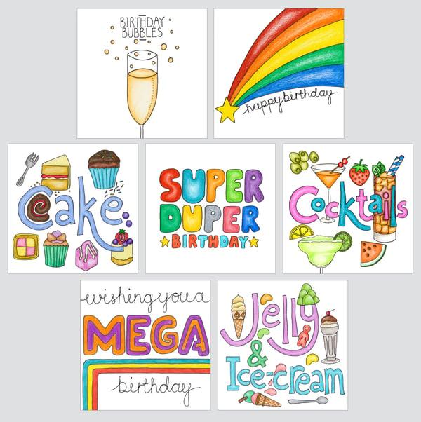Image of Birthday Cards