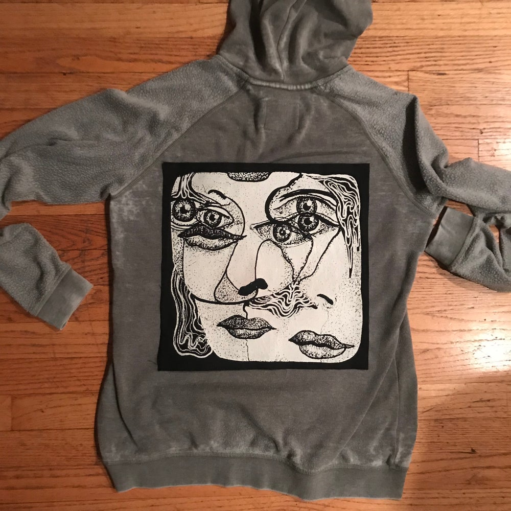 """Image of """"Entanglement"""" Large Screen Printed Sew On Patch"""