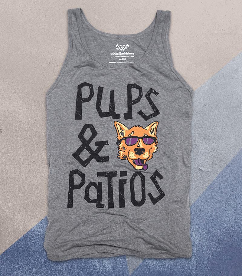 Image of Pups & Patios Tank