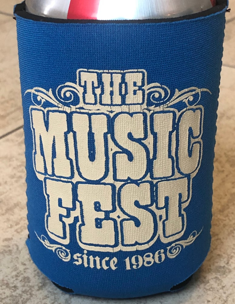 Image of The MusicFest Get Real Neoprene Koozie