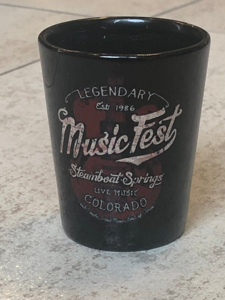 Image of Legendary MusicFest Shot glass 2oz
