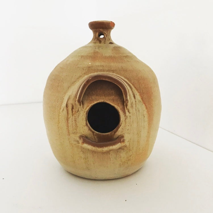 Image of JB COLE NC POTTERY BIRDHOUSE