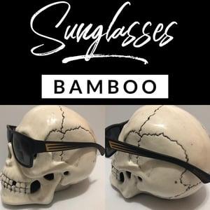 Image of Black Sunglasses - Scallops