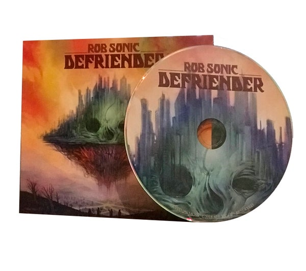 Image of Defriender CD.
