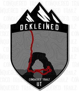 "Image of ""DeKleined"" Trail Badge"