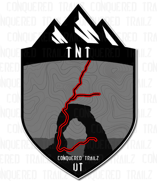 "Image of Sand Hollow ""TNT"" Trail Badge"