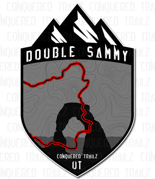 "Image of ""Double Sammy"" Trail Badge"