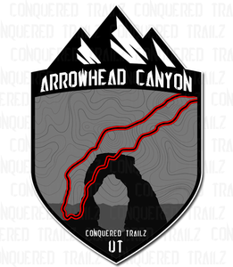 "Image of ""Arrowhead Canyon"" Trail Badge"