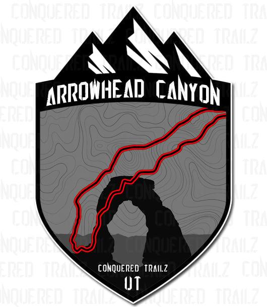 "Image of ""Arrowhead Canyon"" Trail Badge"