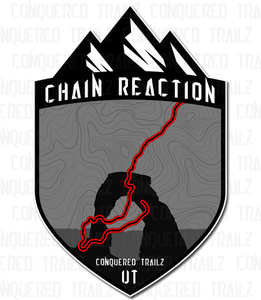 "Image of ""Chain Reaction"" Trail Badge"