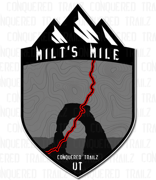 "Image of ""Milt's Mile"" Trail Badge"