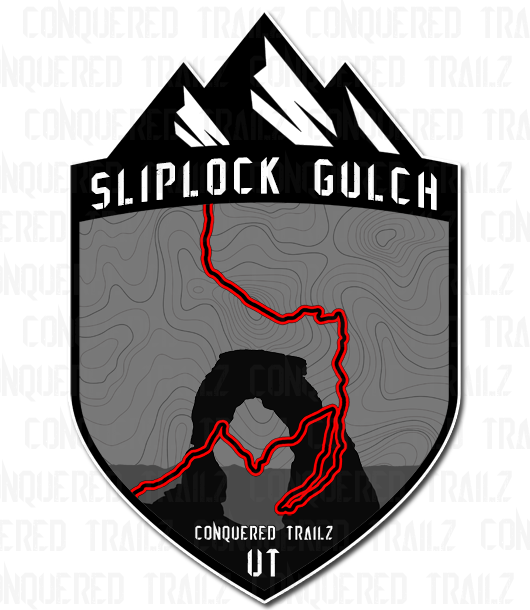 "Image of ""Sliplock Gulch"" Trail Badge"