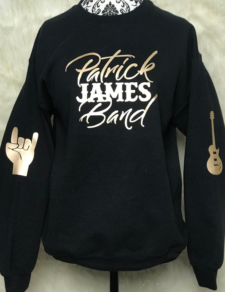 Image of Limited Edition Patrick James Band Sweatshirt