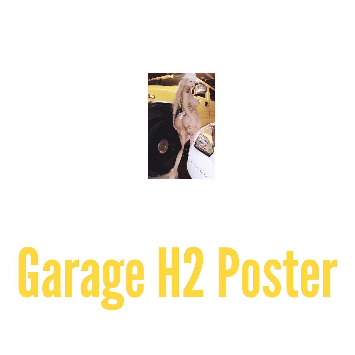 Image of HUMMER H2 poster