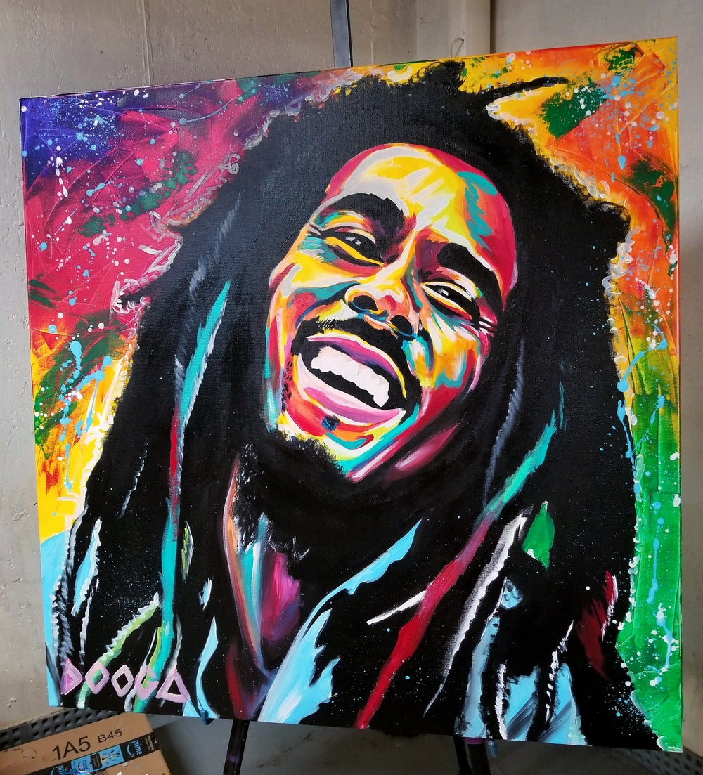 Image of Marley - Canvas Print