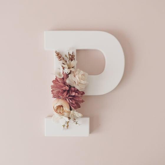 Image of Primrose Floral Letter