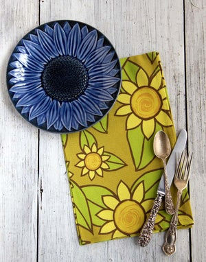 Image of Sunflower Tea Towel - FREE SHIPPING
