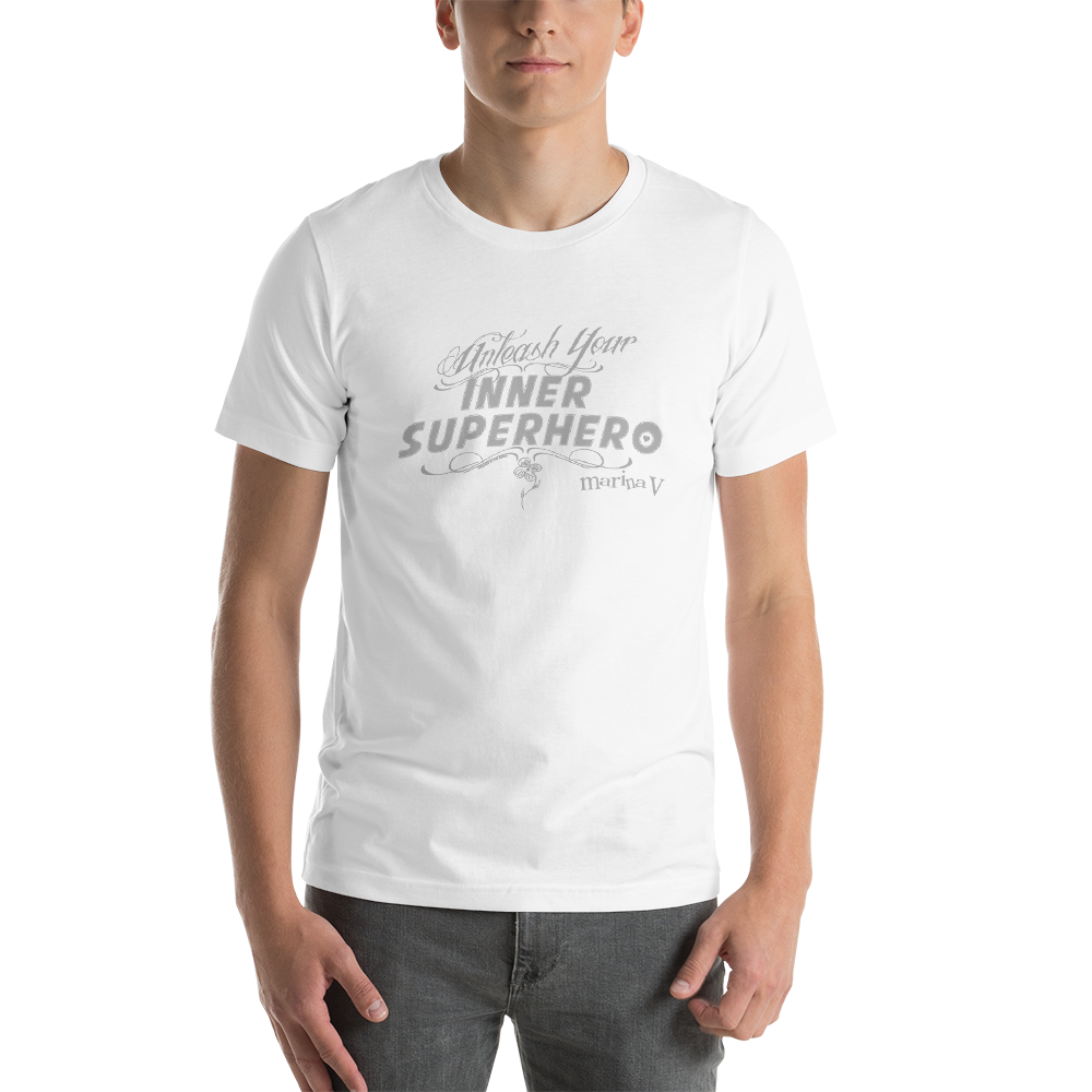 Image of Inner Superhero Unisex T-shirt - White