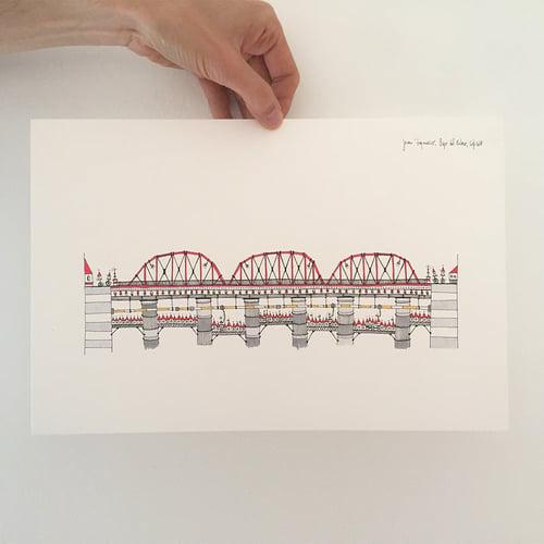 Image of Casitas with a bridge
