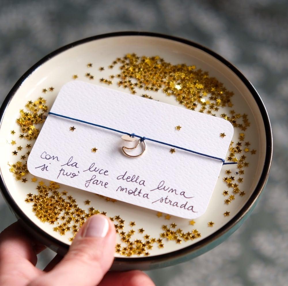Image of Luna - braccialetto portafortuna