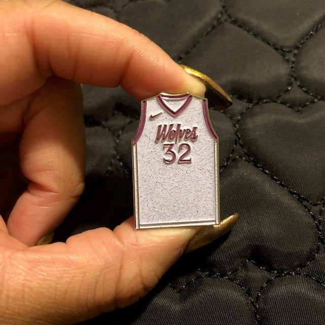 Image of WOLVES (WHITE GLITTER JERSEY)