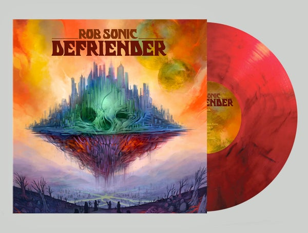 Image of Rob Sonic Defriender Retail Red Vinyl