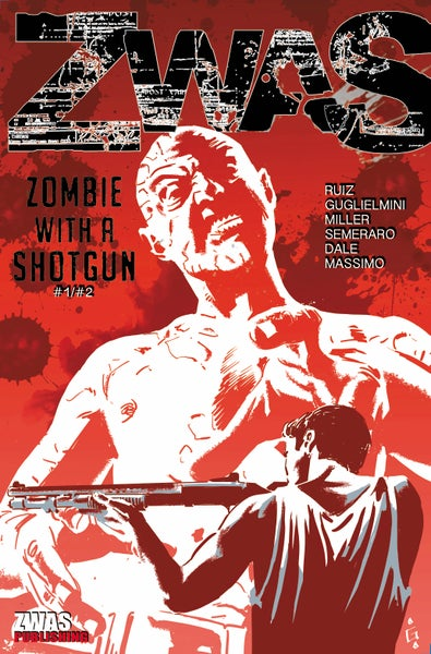 Image of Zombie with a Shotgun Comic Combo Edition with Issue's #1 and #2 in one.