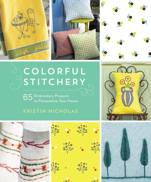 Image of Book - Colorful Stitchery - Signed Copy - Free Shipping