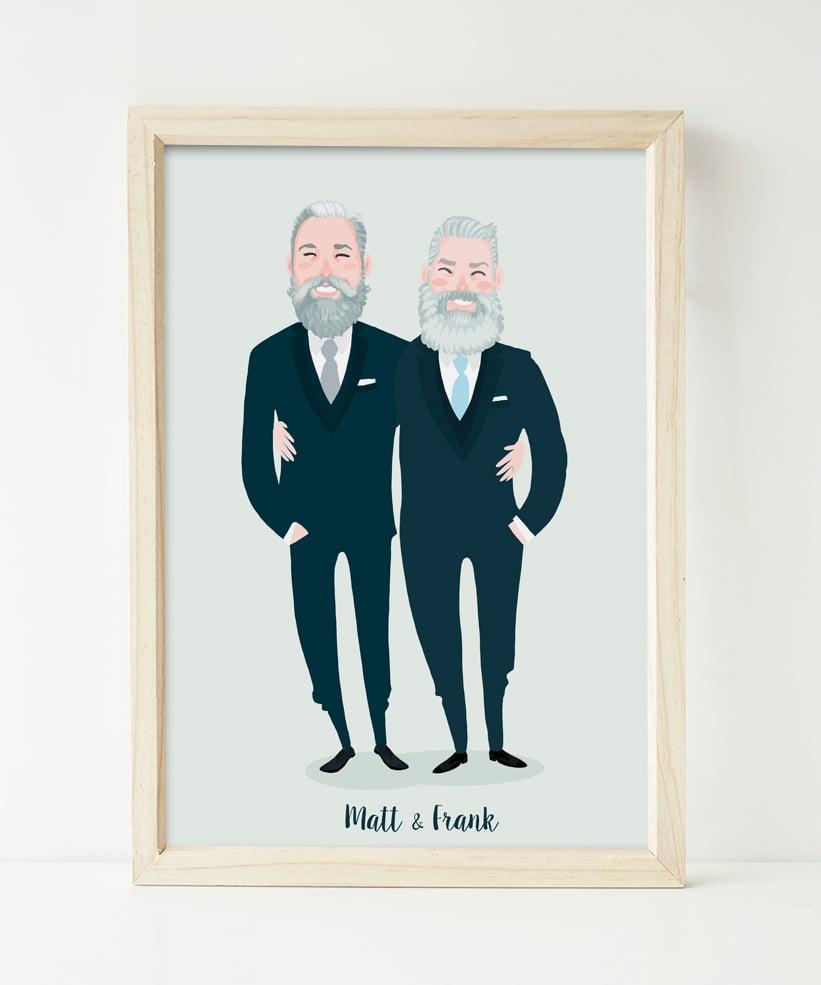 Image of Wedding couple