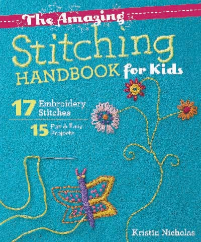 Image of Book - The Amazing Stitching Handbook for Kids - Signed Copy