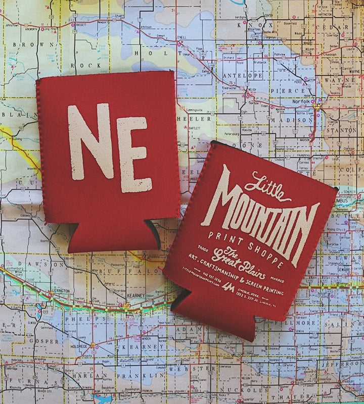 Image of NE Koozie