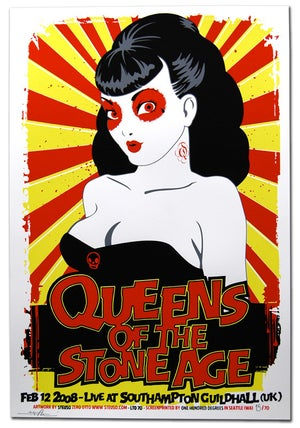 Image of QUEENS OF THE STONE AGE - Southampton (UK) 2008
