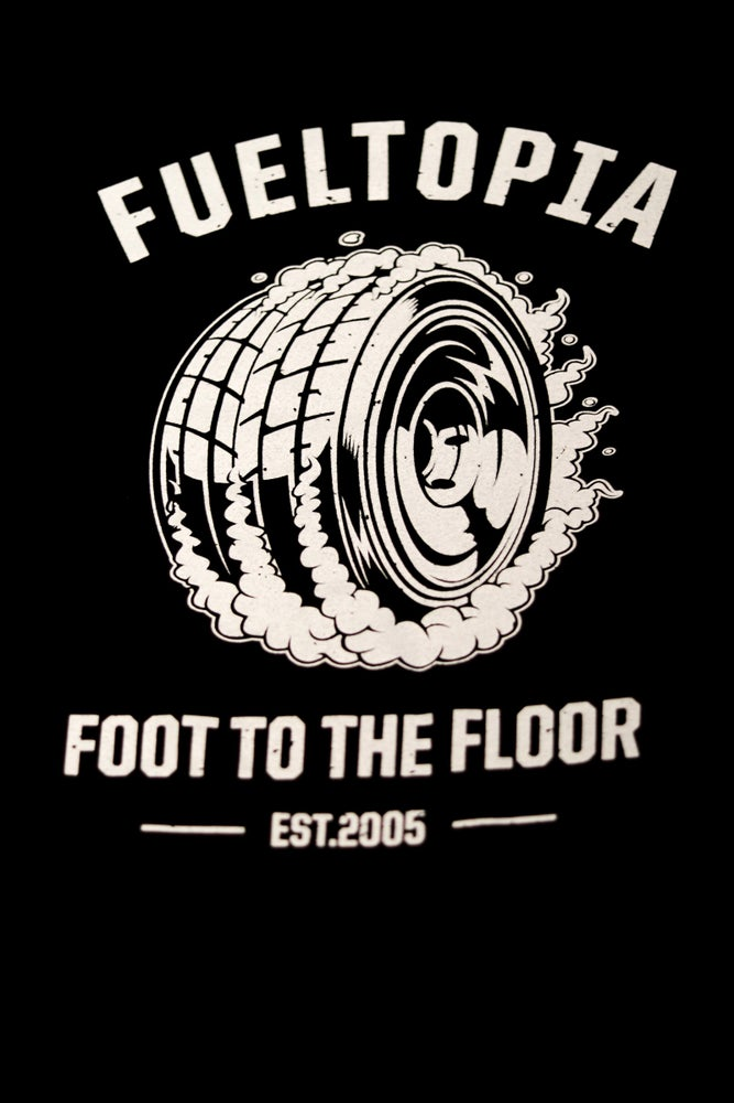 Image of Fueltopia Tyre Tee
