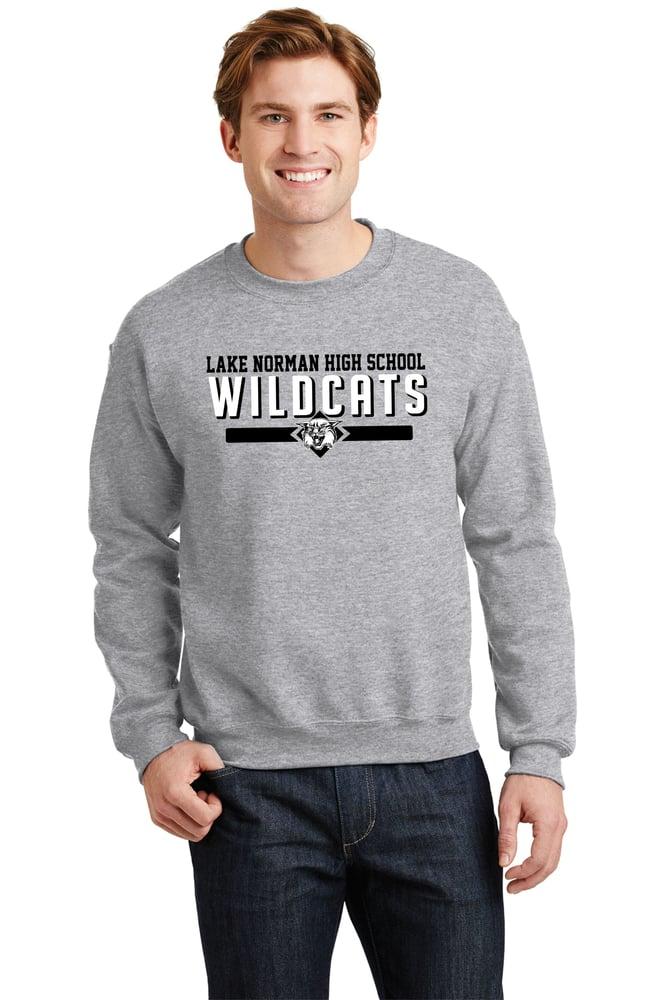 Image of Wildcats GRAY Crewneck Sweatshirt