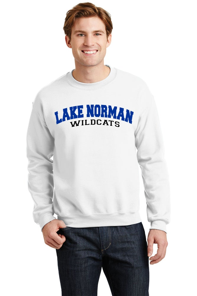Image of Lake Norman Arched Crewneck Sweatshirt - 2 color options!