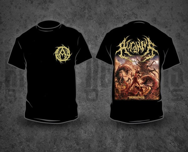 Image of ACRANIUS - A / Dishonor T-Shirt