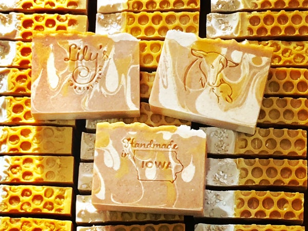 Image of Oatmeal Milk & Honey Goat Milk Soap