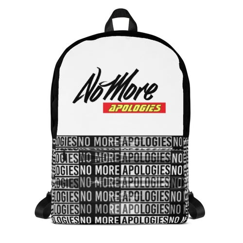 Image of No More Apologies Back Pack