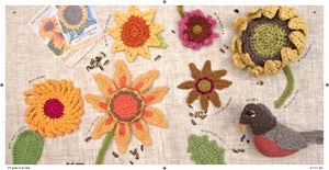 Image of Book - 50 Sunflowers To Knit, Crochet, and Felt