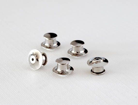 Image of LOCKING PIN BACKS (4 pack)