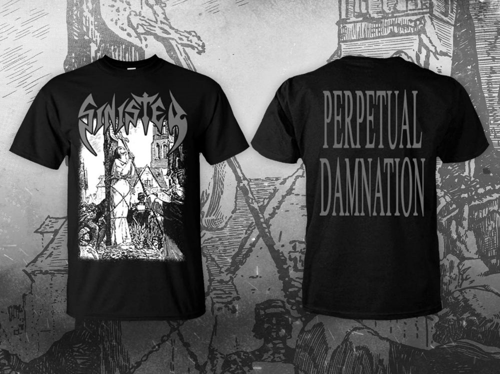 Image of SINISTER - Perpetual Damnation Single Package (SS and LS) - Bundle Package (SS/LS + Tape)