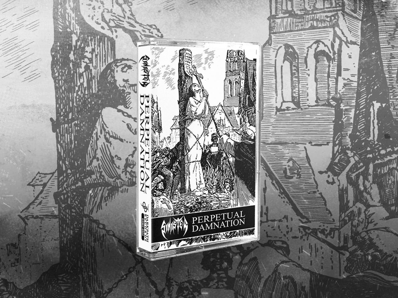 Image of SINISTER - Perpetual Damnation Tape