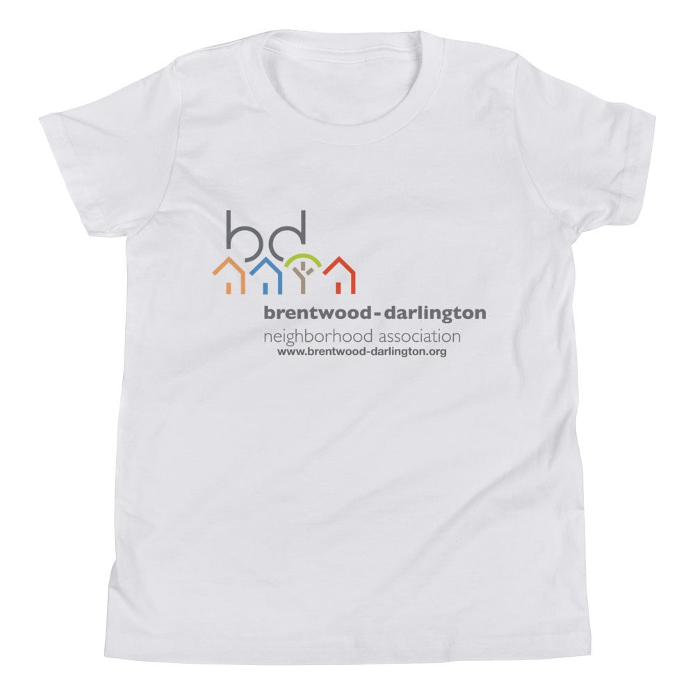 Image of Brentwood-Darlington Neighborhood Association Original Logo Unisex Youth T-Shirt