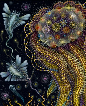Image of 'DEVOURING STARJELLY' - Signed Limited Edition 23in X 29in