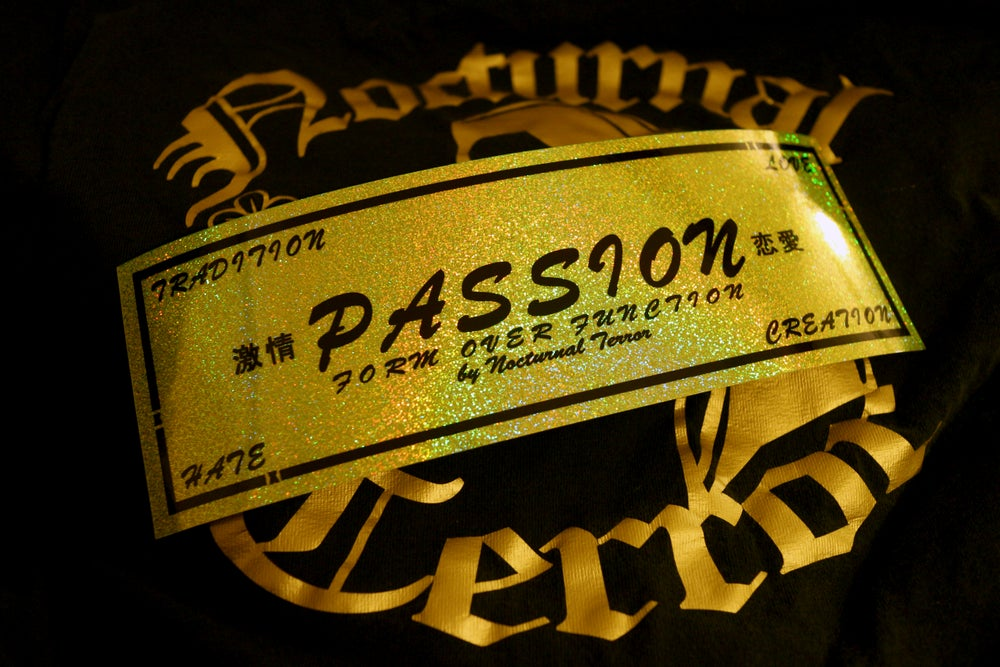 Image of Passion : YELLOW