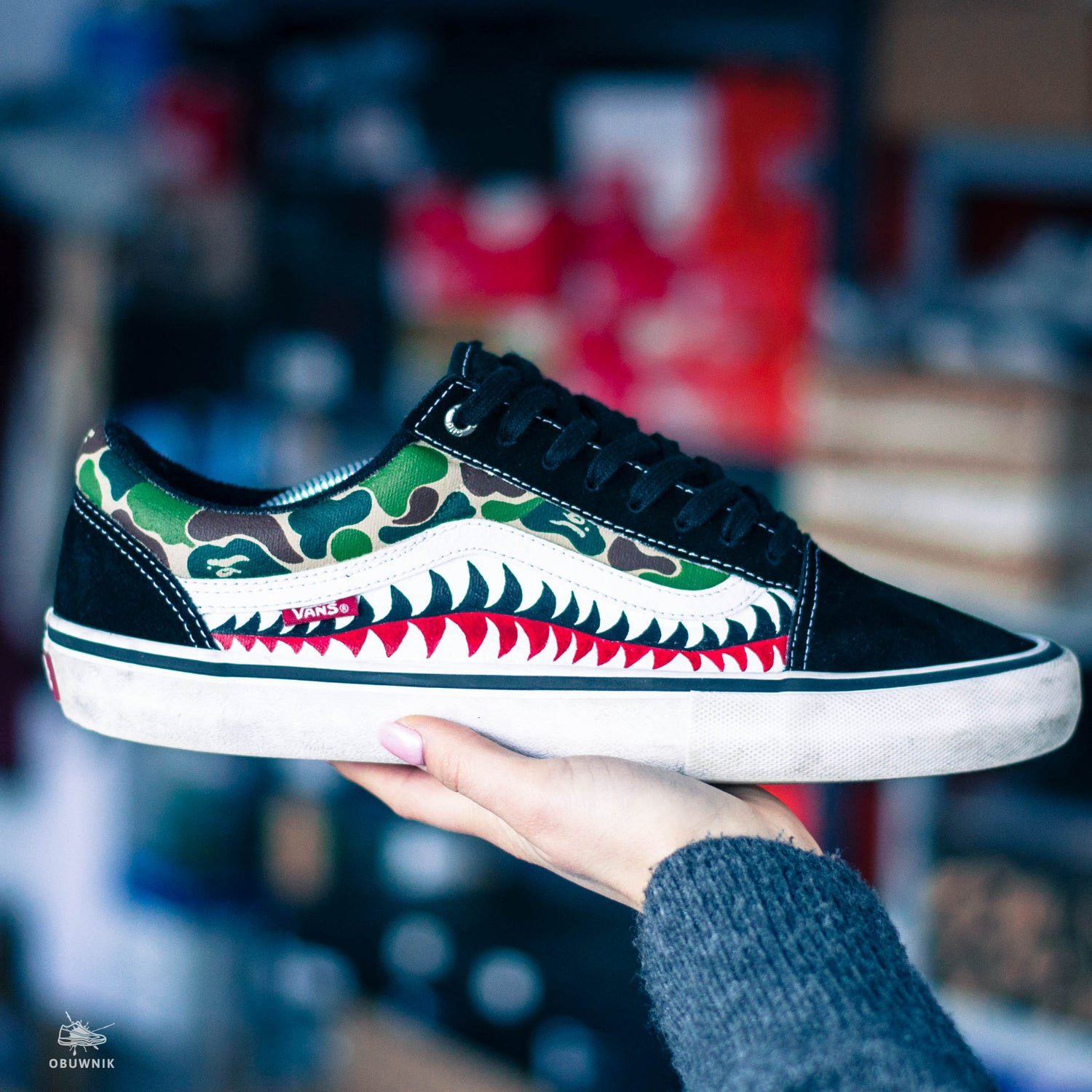 Image of Vans x Bape Shark