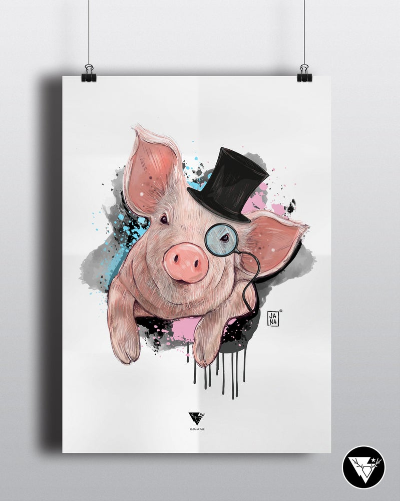 Image of Year of the pig / art print